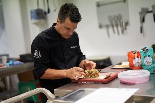 Roberto Baquero el chef corporativo de Amanida
